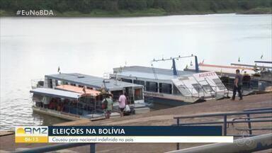 Fechamento do porto em Guayará-Mirim provoca manifestação na Bolívia - Situação foi normalizada.