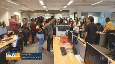 Alunos de Charqueada encerraram programação de visitas da 20ª edição do EPTV na Escola - Mais de 30 mil alunos de 55 cidades da região participaram do projeto.