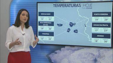 Veja como fica o tempo nesta quinta-feira na região - Há possibilidade de chuva isolada.