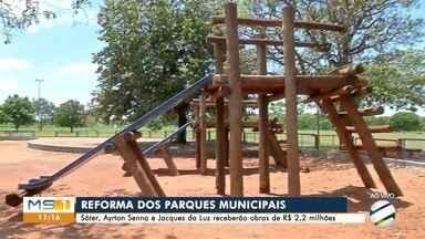 Três parques municipais de Campo Grande passarão por reformas - Obras no Sóter, Jacques da Luz e Ayrton Senna custarão R$ 2,2 milhões
