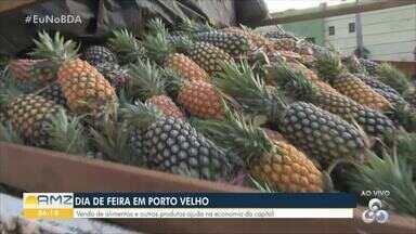 Economista analisa preço de feira e dá dicas para comprar mais barato - Iule Vargas visitou a feira do bairro Liberdade, da capital.