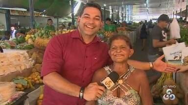 Acompanhe visita a Feira do Produtor, em Manaus - Local tem grande variedade de produtos.