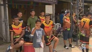 Conheça projeto que ajuda mudar realidade de jovens da Zona Norte de Manaus - Projeto atende jovens de vários bairros.