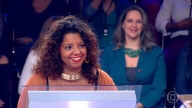 Andressa Cruz participa do Quem Quer Ser Um Milionário - Ela foi até a pergunta 8 (R$ 20 mil) e continua no próximo programa
