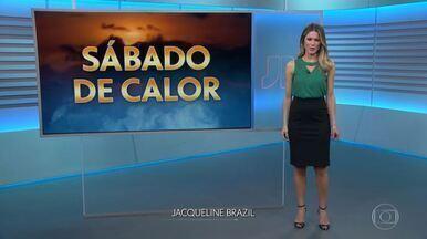 Veja como fica o tempo neste sábado (26) - Tempo de verão em quase todo o Brasil. E alerta de índice ultravioleta alto em grande parte do país.