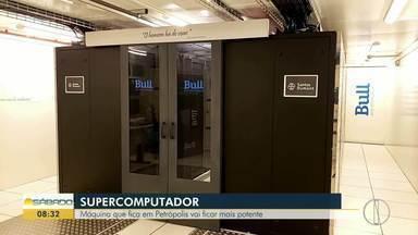 Máquina que fica em Petrópolis vai ficar mais potente - No Laboratório Nacional de Computação Científica, o LNCC, fica o maior e mais avançado computador da América Latina.