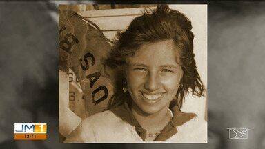 Uma homenagem à super campeã maranhense Georgiana Fligger, que faleceu aos 19 anos - A notícia na época abalou o esporte maranhense, principalmente no vôlei, onde ela era referência.