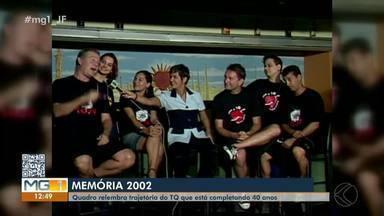 Memória MG: TQ completa 40 anos de história e bom humor em Juiz de Fora - Quadro conta a trajetória do grupo, que está em cartaz com a peça 'Facada na Caveira'.
