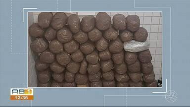 67 quilos de maconha são apreendidos em Caruaru - Três carros também foram apreendidos