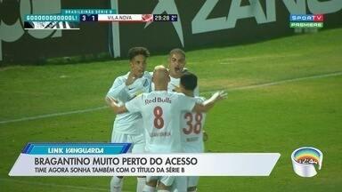 Bragantino dá mais um passo rumo ao acesso - Veja a reportagem.
