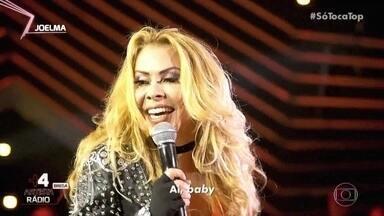 Joelma levanta a plateia com a música ´Ai Baby´ - A cantora mostra a jogada de cabelo famosa