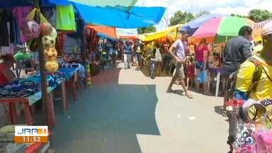 Feira do Pintolândia oferta diversidade de produtos em Boa Vista - parte 2 - Frutas, verduras diversificadas podem ser encontradas no local.