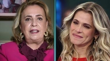 Ingrid Guimarães se emociona com mensagem da mãe e fala sobre maternidade - A mãe da atriz falou do pai de Ingrid e a superação que a filha passou