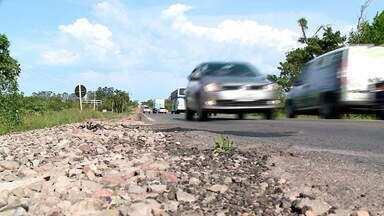 Obra interrompida na rodovia ERS-287 causa acidentes em Agudo - Acostamento não foi concluído e moradores aguardam há seis meses finalização.