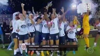 Corinthians vence Ferroviária e é campeão da Libertadores Feminina no Equador - Com gols de Crivelari e Juliete, Timão bate a equipe do interior com méritos e levanta a taça