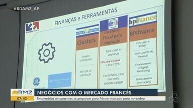 Empresários amapaenses se preparam para Fórum Franco-Brasileiro, em novembro - Setor estuda estratégias para estreitar laços com a Guiana Francesa. Sebrae ajuda na capacitação.