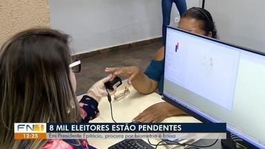 Em 12 cidades da região, prazo para cadastramento biométrico termina em um mês - Baixa procura pelo procedimento tem preocupado os cartórios eleitorais.