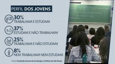 Cerca de 30% dos jovens paulistas estão desempregados, diz pesquisa - Levantamento da Fundação Escola de Sociologia e Política de São Paulo também descobriu que a maior dificuldade está na falta de experiência.