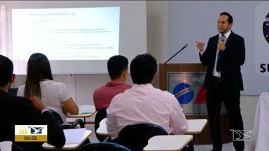 Advogados recém-formados participam de minicursos em Caxias - São várias essas práticas, principalmente nas áreas de Cível e Criminal disponíveis na cidade.