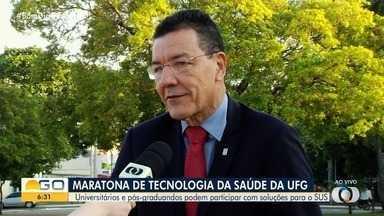 UFG realiza inscrições para maratona de tecnologia da saúde - Reitor Edward Madureira convida estudantes para o projeto.