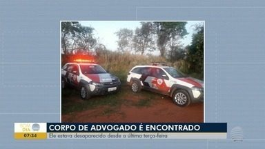 Corpo de advogado vítima de latrocínio é velado em Pirapozinho - Vítima ficou desaparecida após dar carona a um suposto 'cliente'.