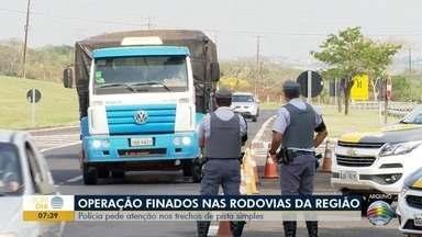 Operação Finados começa nas rodovias do Oeste Paulista - Polícia Rodoviária pede atenção em trechos de pista simples.