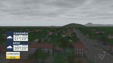 Confira a previsão do tempo para este fim de semana - Sábado deve ser de clima abafado, no domingo deve chover a tarde na Baixada Santista.