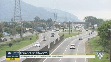 Em feriados, o risco de acidente por imprudência aumenta na região - Oito pedestres morreram este ano atropelados na Rodovia Padre Manoel da Nóbrega