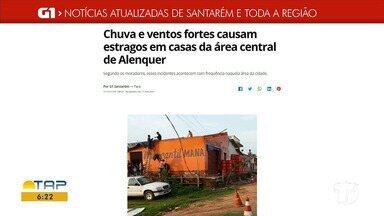 Temporal em Alenquer é destaque no G1 Santarém e região - Confira os destaques acessando nossa página na internet.