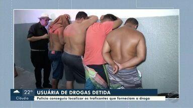 Polícia consegue localizar traficantes após prender usuária de drogas, em Cuiabá - Polícia consegue localizar traficantes após prender usuária de drogas, em Cuiabá