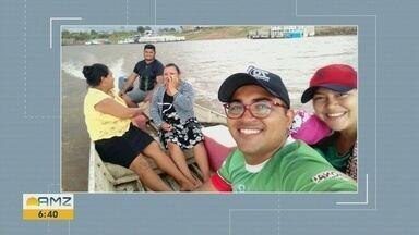 Duas pessoas morrem e um homem desaparece após naufrágio no interior do AM - Acidente ocorreu na tarde desta quinta-feira.