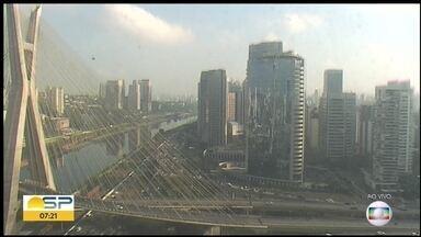 Veja como fica o tempo em São Paulo no fim de semana - O fim de semana deve ser de sol e calor.
