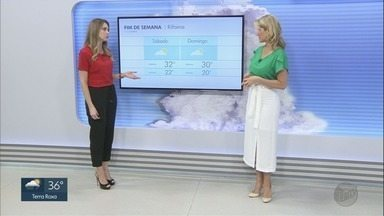 Veja a previsão do tempo para esta sexta-feira (1º) na região de Ribeirão Preto - Há previsão de pancadas de chuva.