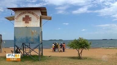 Quantidade de bombeiros em Presidente Epitácio preocupa frequentadores de rios - Cidade é turística e recebe muitas pessoas na Orla e no Parque O Figueiral.