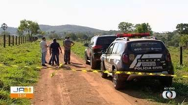 Polícia faz força-tarefa para investigar morte de motorista de aplicativo, em Varjão - Três suspeitos foram mortos em confronto com a PM. Motorista foi encontrado com marcas de tiro no corpo.