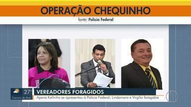 Ex-vereador foragido se entrega à PF em Campos, no RJ - PF segue em busca de Linda Mara (PTC) e Thiago Virgílio (PTC).