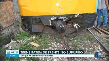 Coordenador do Samu fala sobre vítimas de acidente envolvendo trens em Salvador - Colisão ocorreu nesta sexta-feira (1) no bairro do Lobato, no Subúrbio Ferroviário.