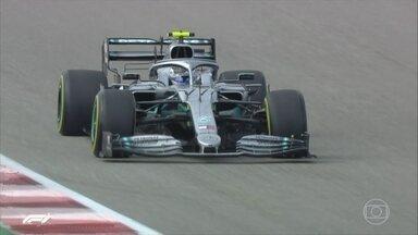 GP de Fórmula 1 dos Estados Unidos é neste domingo (3) - Lewis Hamilton foi o mais rápido no segundo treino livre. O inglês, que está muito perto de conquistar o hexa, é um problema para os companheiros de equipe.