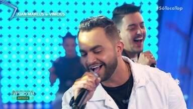 Juan Marcos e Vinícius são a aposta da semana - Dupla já tem música gravada por grandes artistas da música sertaneja e agora se apresenta com 'Cortesia'