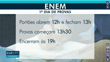 Veja um resumo do que é preciso para fazer as provas do ENEM 2019 - O primeiro dia de provas do exame será neste domingo (3).