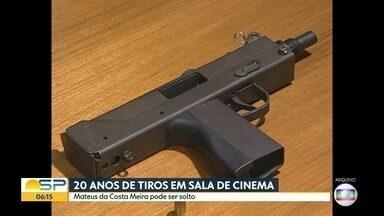 Ataque a tiros em cinema de São Paulo completa 20 anos - Advogado de defesa do atirador Mateus da Costa Meira, que matou 3 pessoas no ataque, pede desinternação.
