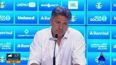 Veja declarações de Renato Portaluppi e Roberto Melo após o Gre-Nal - Assista ao vídeo.