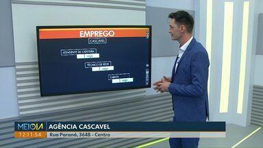 Cascavel tem 4 vagas para ajudante de estruturas metálicas na Agência do Trabalhador - Agência fica na rua Paraná, 3648 - Centro.