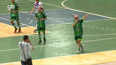 Os gols de Campo Largo 2 x 2 Itabaiana pela primeira rodada da Copa Nordeste de futsal - Os gols de Campo Largo 2 x 2 Itabaiana pela primeira rodada da Copa Nordeste de futsal