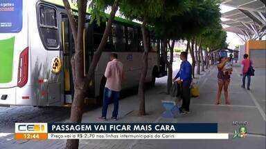 Passagem vai ficar mais cara no Cariri - Saiba mais no g1.com.br/ce