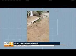 VC NO MG: confira os vídeos enviados pelos telespectadores - Veja as participações dos moradores de Coronel Fabriciano, Governador Valadares e Periquito.