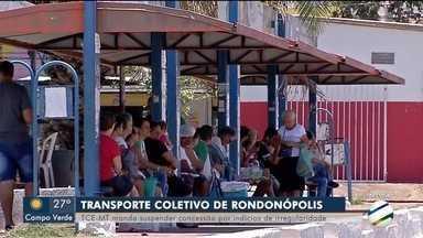 TCE determina suspensão de licitação do transporte público - TCE determina suspensão de licitação do transporte público