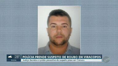Suspeito de participar do assalto em Viracopos é preso em Caruaru (PE), diz PF - Homem que foi preso com R$ 300 mil ainda é suspeito de participar de assaltos a bancos e transportadoras de São Paulo.