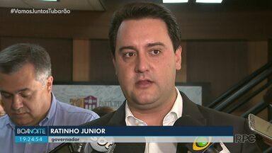 Governador explica fechamento de colégios estaduais - Ratinho Júnior disse que procura caiu mas que as mudanças serão discutidas com pais e professores