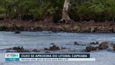Manchas de óleo são registradas no extremo Sul da Bahia e Norte do ES está em alerta - Manchas estão perto da divisa da Bahia.